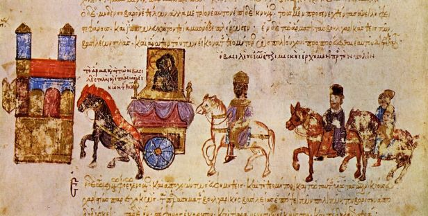 Triumph of John I Tzimiskes in Constantinople, following his conquest