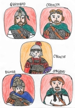 Story Characters Set2- Gundobad, Odoacer, Cyriacus the Isaurian, Bilimer, Syagrius
