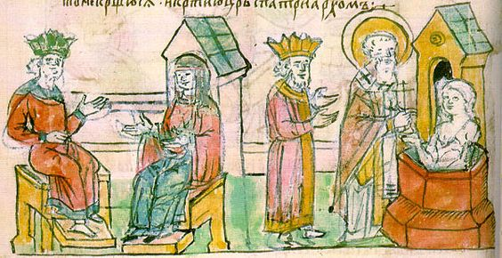 Conversion of Olga to Christianity