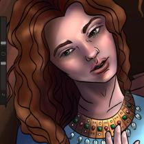 Theophano (Anastasia) before marrying Romanos