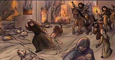 Slavic tribes attack Laconia before Theophano's birth, 940