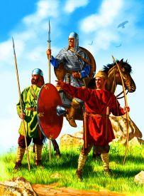 Frankish army, 6th century