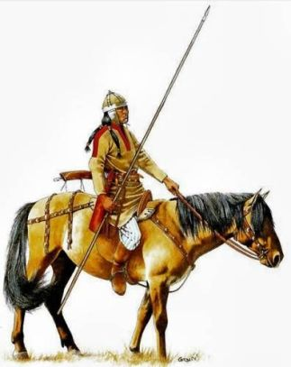 Fictitious Barbarian alliance- Hephthalites (White Huns)