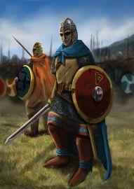Fictitious Barbarian alliance- Saxon warriors