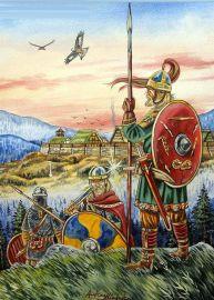 Fictitious Barbarian alliance- Suebi warriors