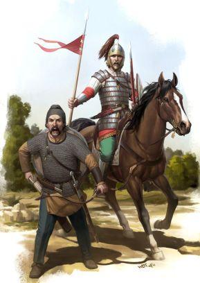 Fictitious Barbarian alliance- Visigoth warriors