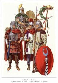 Fictitious Roman alliance- Western Roman army