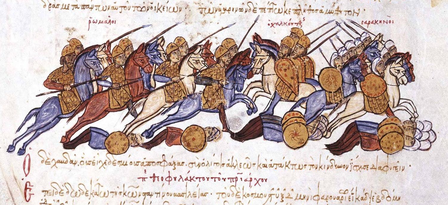 Leo_Phokas_defeats_the_Arabs_in_950,_escape_of_Chalkoutzes
