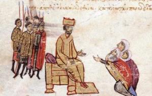 Nikephoros II in the Madrid Skylitzes