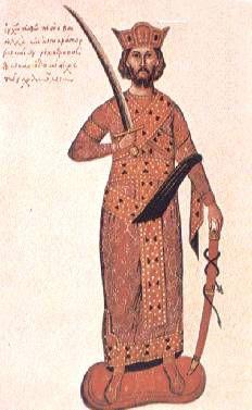 Byzantine emperor Nikephoros II Phokas (r. 963-969)