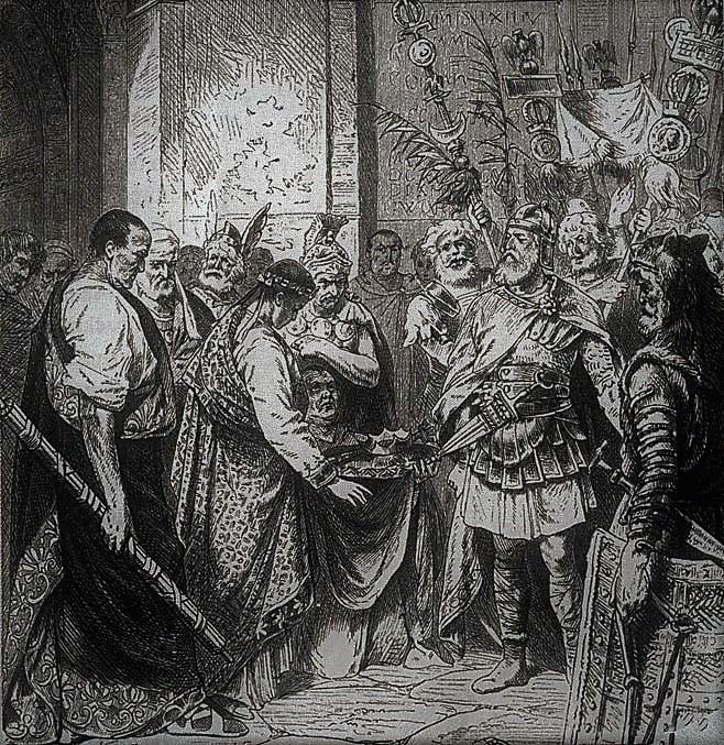 odoaker-i-cesarz-romulus-augustulus-reprodukcja-ryciny-nieznanego-autorstwa-zdj-wikipedia-Rome-5be2c712b654a