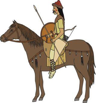 Belisarius' Hunnish cavalry