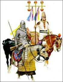 Fictitious Roman alliance- Sassanid army