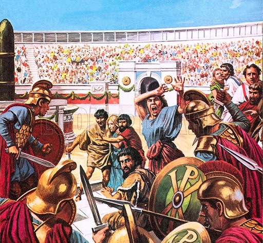 Slaughter in the Hippodrome at Constantinople in AD 532