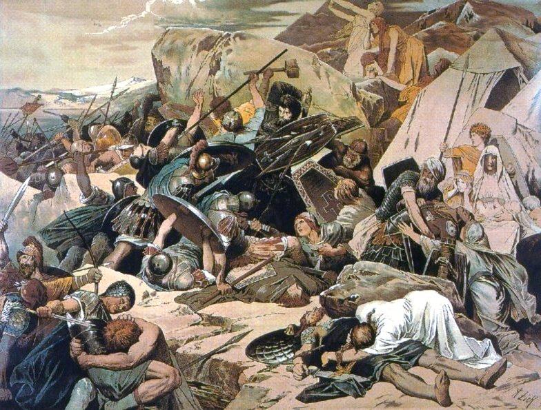 Gothic_Battle_of_Mons_Lactarius_on_Vesuvius