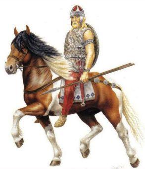 Belisarius' Heruli cavalry