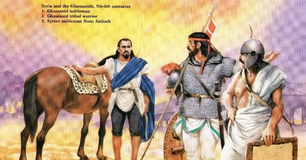 Ghassanids, Byzantine allies from the Arabian desert