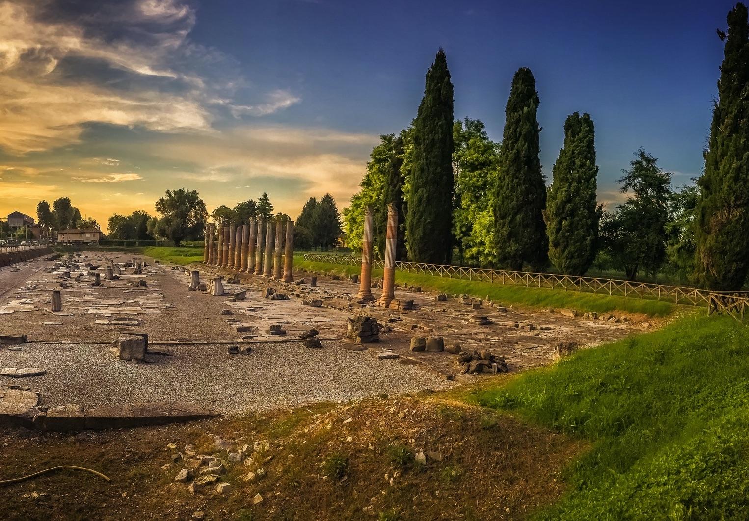 Roemische-Ruinen-in-Aquileia