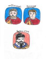 Story characters set4- Alexios, Philippikos, Gaozong of Tang