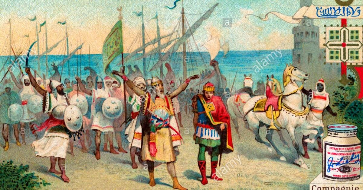 history-of-sicily-arrival-of-arabs-in-mazara-del-valloon-17-june-827-ERGJ5G-1