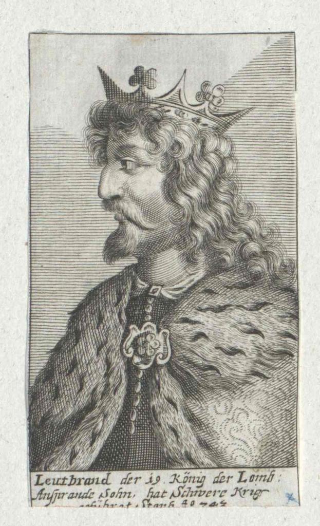 Liutprand, König der Langobarden