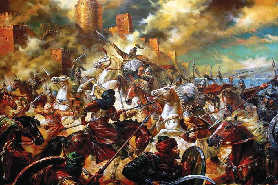 Second-Siege-of-Constantinople-717-718-HistoryNet