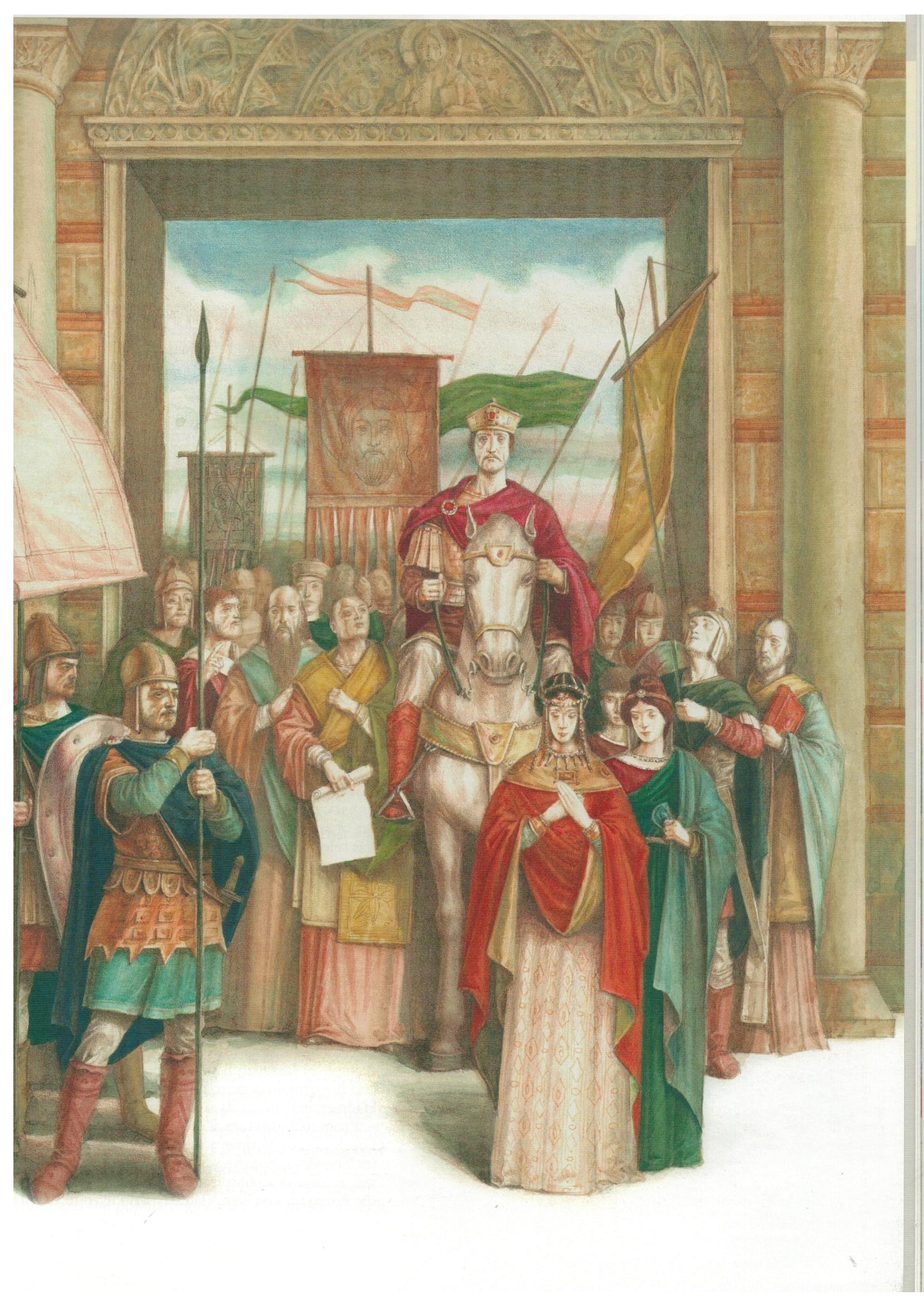 basil-ii-triumph-from-rulers-of-the-byzantine-empire-published-by-kibea