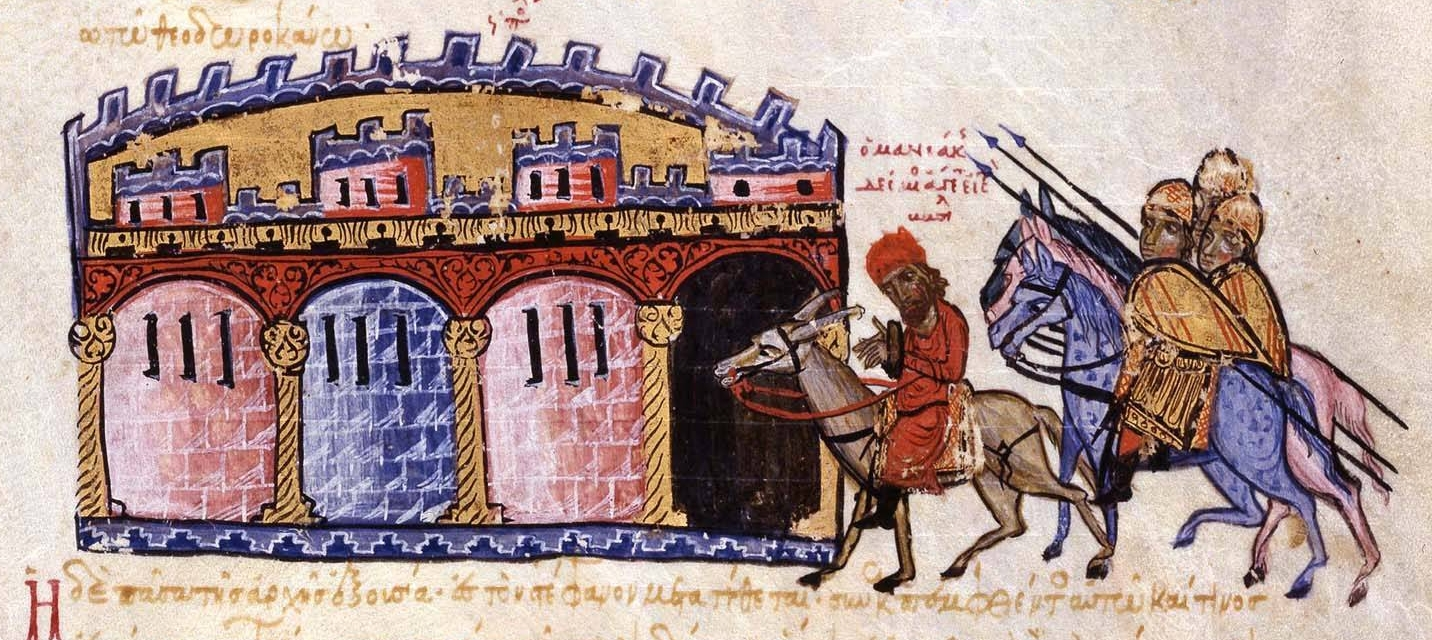 The_captive_Maniakes_is_brought_to_Constantinople