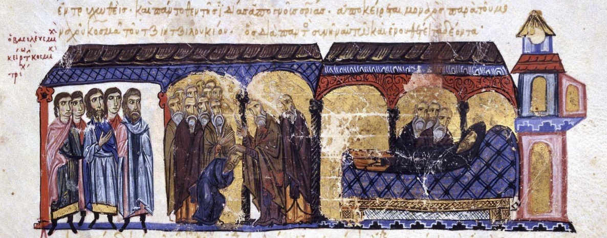 Tonsure_and_death_of_Michael_IV