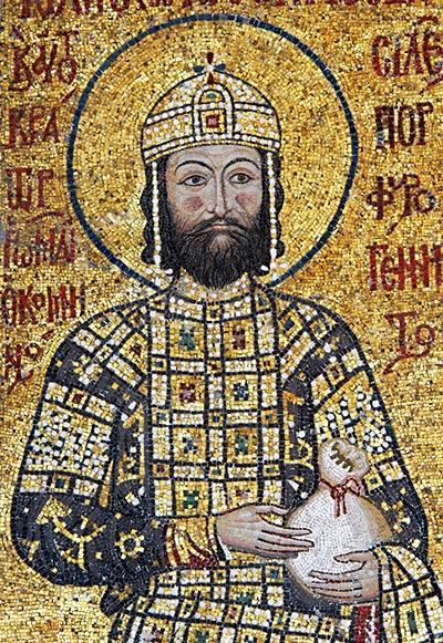 Emperor John II Comnenus, Hagia Sofia in Istanbul