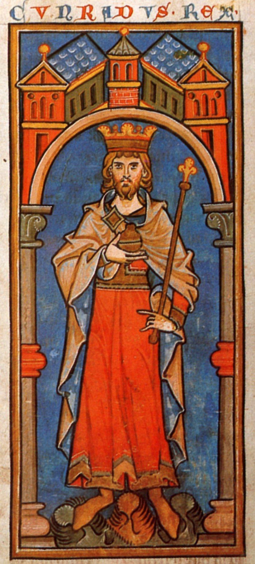 Konrad_III_Miniatur_13_Jahrhundert