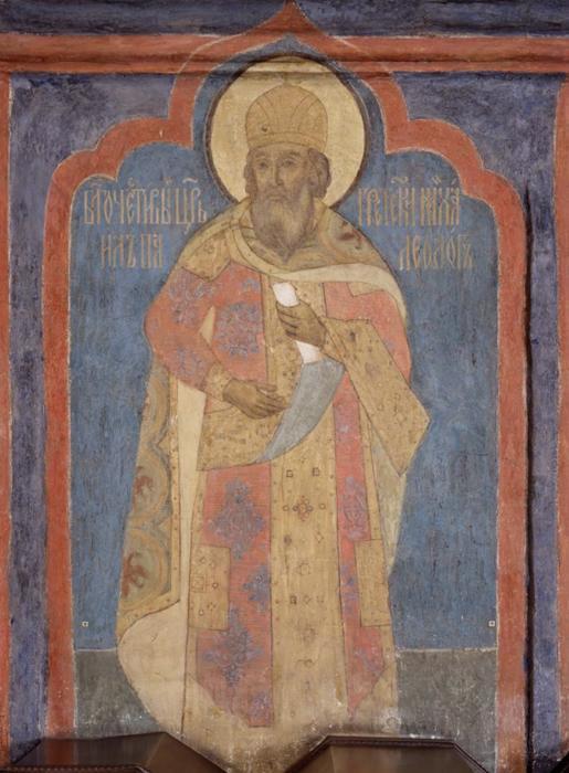 Archangel_Cathedral_-_SE_column,_1st_lev.,_west_-_Michael_Paleolog